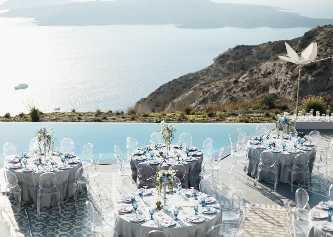 Private Cruise Sailing Wedding Events –  Greek Islands, Eros Santorini Villa & Ephesus Turkey