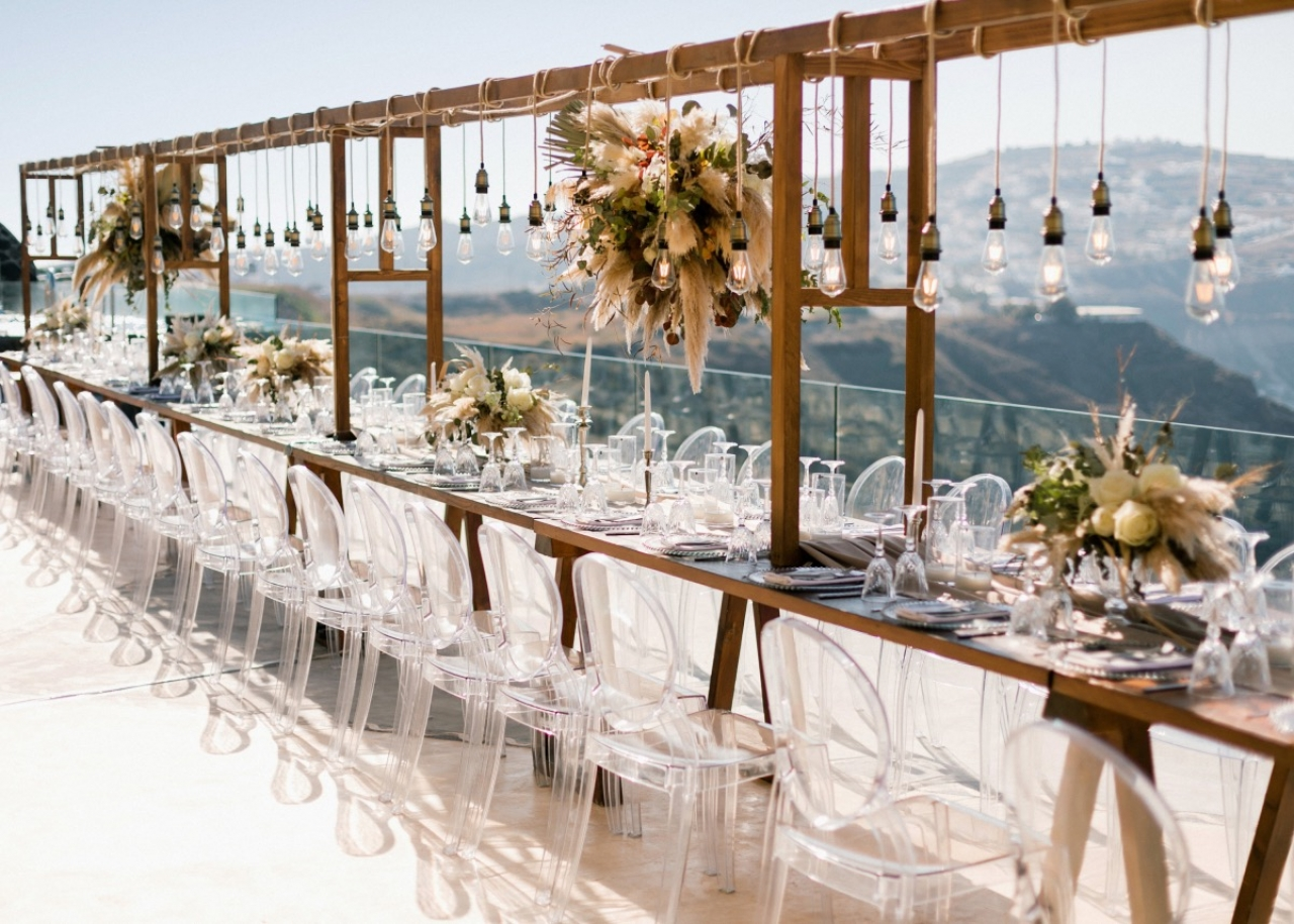 Pampas Dream @ Cavo Ventus… Destination Wedding in Santorini island Greece