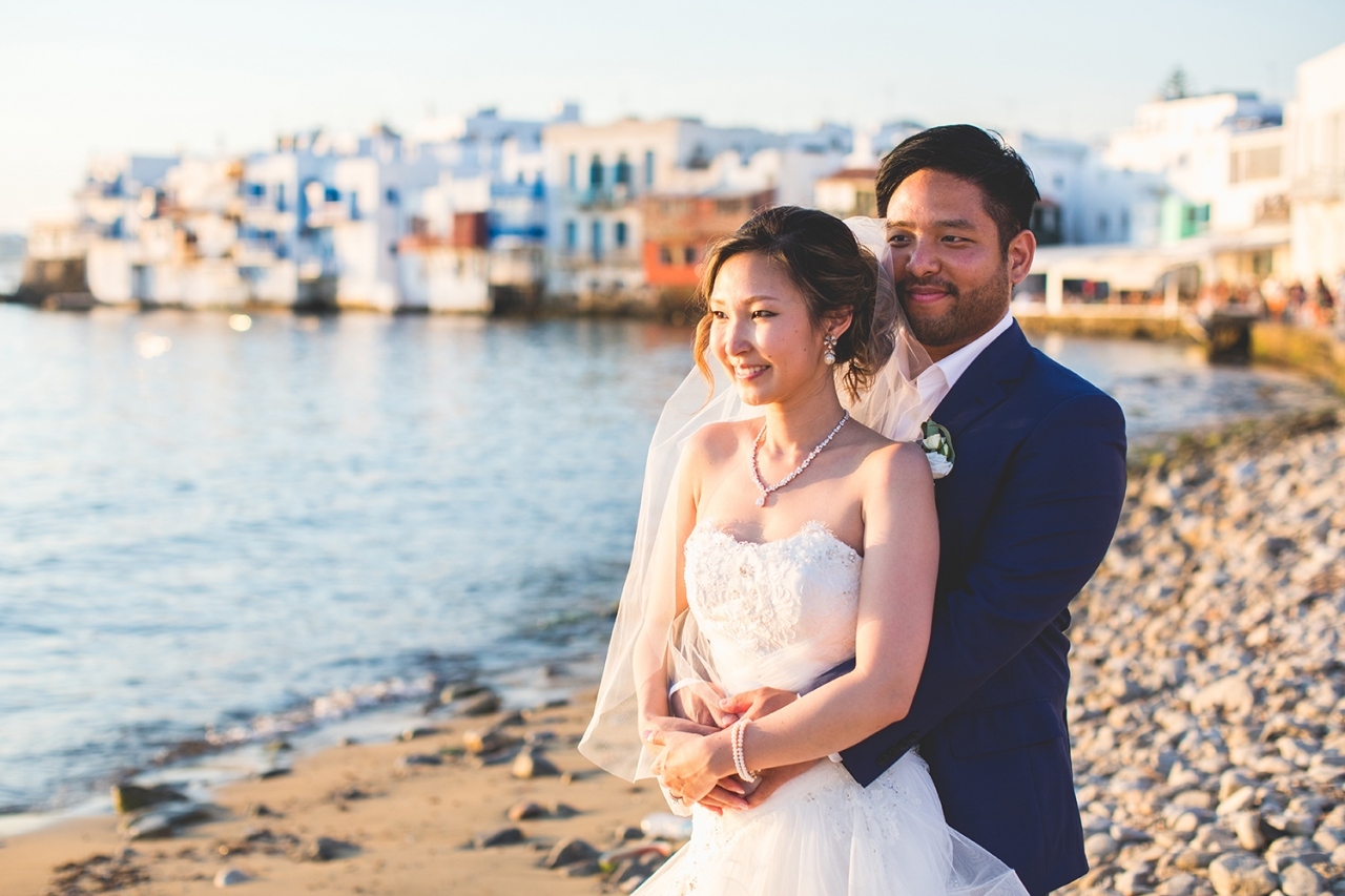 Destination Wedding in Mykonos - Alegria Private Villa Wedding Venue