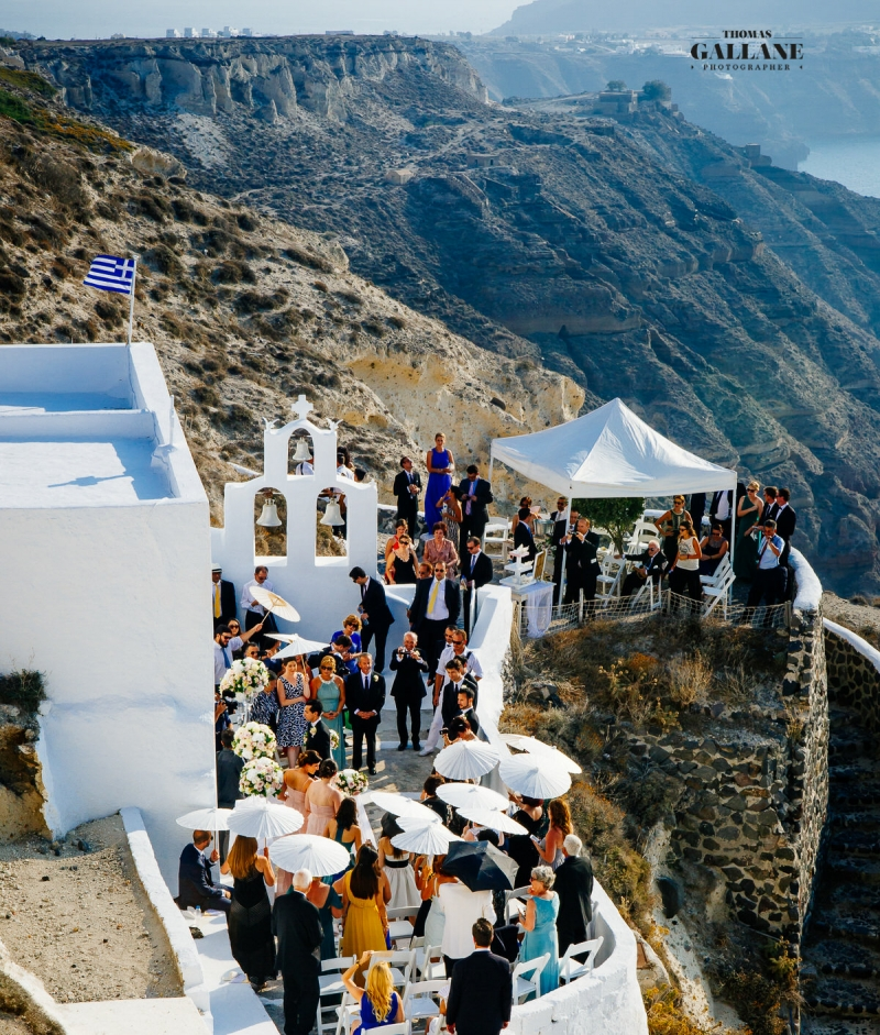 From LA to Santorini for a Glam Wedding