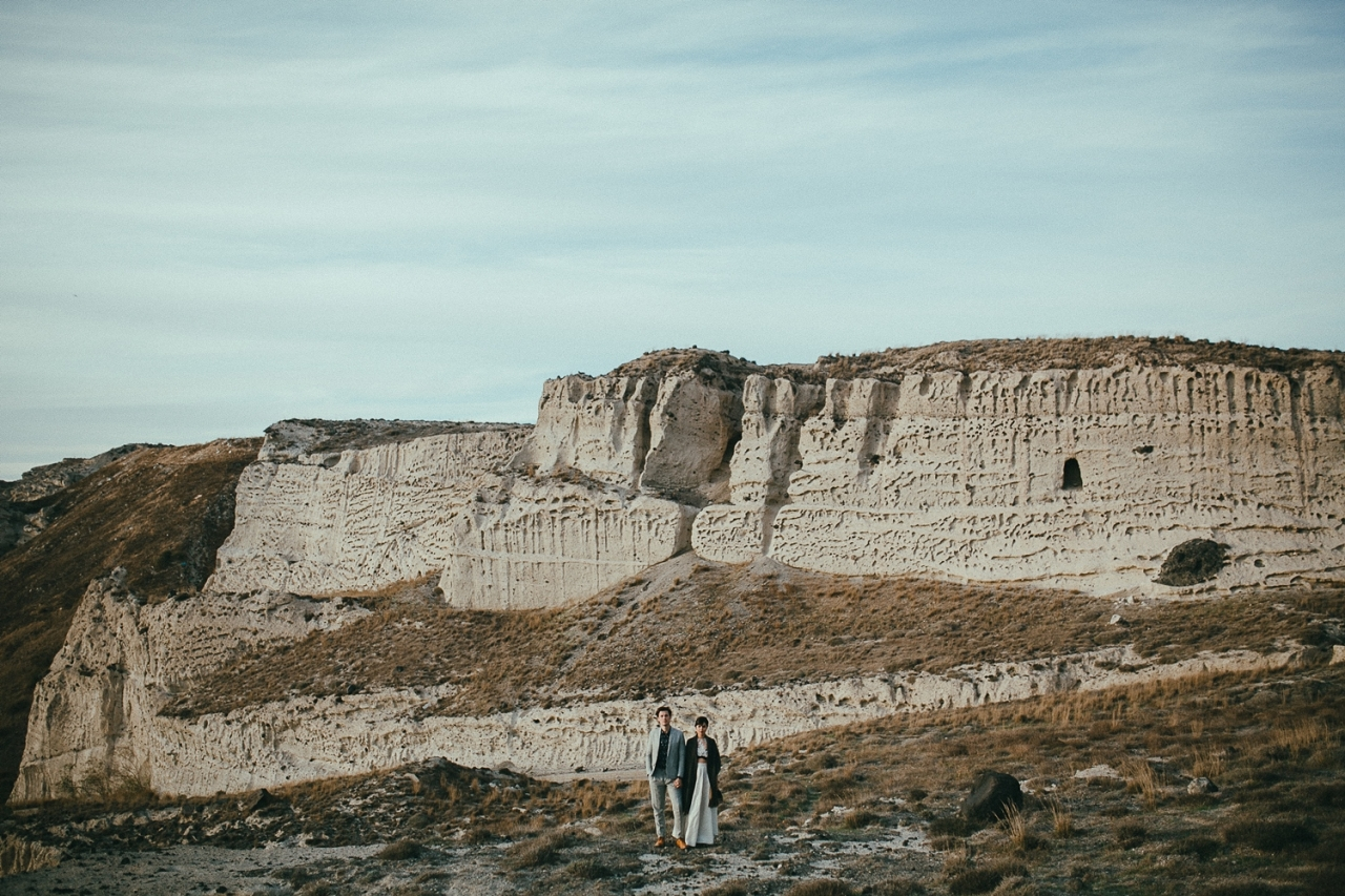 Wild Destination Wedding Elopement at Eros Santorini Villa